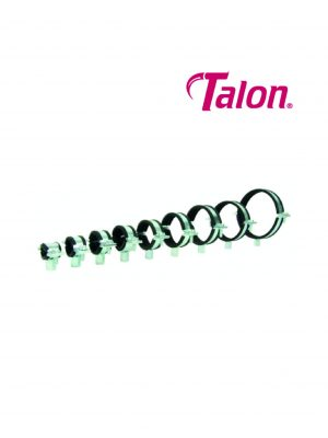 Talon Rubber lined clips